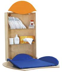 Compact Baby Changing Table Egg Shaped Baby Changer That Serves As A Compact Kid Desk Later