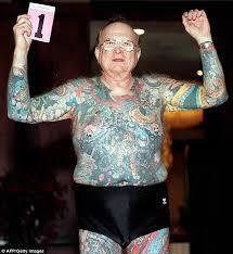 photos of tattooed seniors show how body art endures passage of