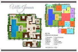 floorplan villa jemma u2013 seminyak 4 bedroom luxury villa bali