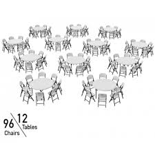bulk tables and chairs lifetime 60 in commercial round tables and chairs bulk set white