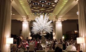 holiday tea at the drake hotel in chicago hilton mom voyage