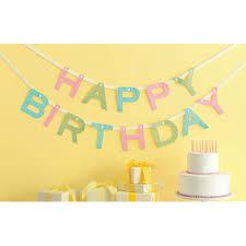 amazon com martha stewart crafts happy birthday banner arts