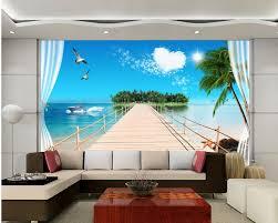 aliexpress com buy beautiful scenery wallpapers 3d stereo tv