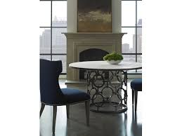 lillian august for hickory white dining room seaton dining table