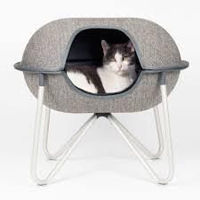 modern cat furniture buy modern cat u0026 dog beds online herringbone hepper pod designer bed