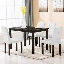breakfast table with 4 chairs new mtn g 5 piece dining table set 4 chairs room kitchen dinette