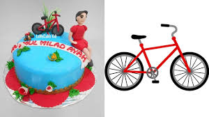 bicycle cake topper bicycle cake decoration theme