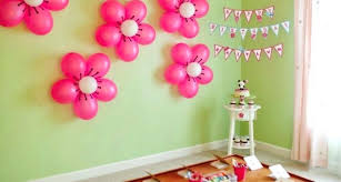 how to make birthday decoration at home birthday decorations ideas at home for girl simple how to make