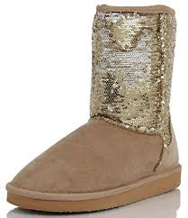 Comfortable Ankle Boots Amazon Com Soda Women U0027s Bling Sequin Faux Suede Fur Lining