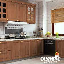 masters gel stain kitchen cabinets olympic 1 qt mahogany semi transparent based interior exterior gel stain