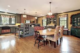 country ideas for kitchen americana kitchen ideas with country design pictures and decorating