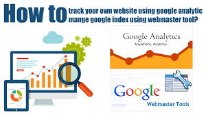 how to track website and improve search result using google