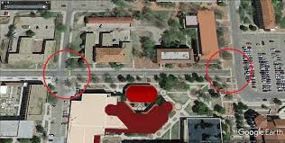 Texas Tech Campus Map Portions Of Boston Avenue 15th Street Will Be Closed For Pavement