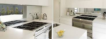 mirrored backsplash in kitchen 20 diy kitchen backsplash ideas