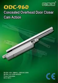 Overhead Door Closer Adjustment by Products Gcc Good Credit Corporation