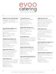 lunch menu template free catering menu templates catering menu doc catering