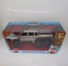 jurassic park car mercedes jurassic world mercedes benz g 63 amg 6x6 rc vehicle ebay