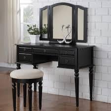 Bedroom Wall Vanity Bathroom Design Furniture High Black Vanity Table Drawers