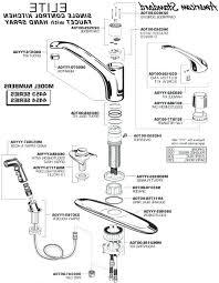 kohler kitchen faucet parts diagram wonderful kohler kitchen faucet parts churichard me