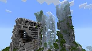 City Maps For Minecraft Pe Ruined City Map For Mcpe 1 0 1 Apk Download Android