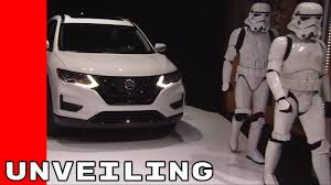 nissan rogue one helmet 2017 nissan rogue star wars limited edition unveiling and