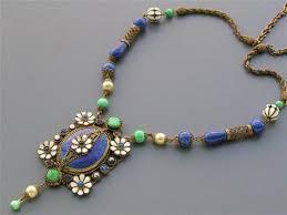 blue glass necklace vintage images 173 best peking glass jewelry images glass jewelry jpg
