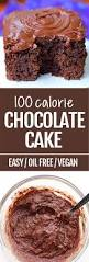 100 calorie chocolate cake with no oil