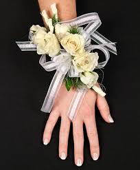 white corsages for prom beautiful white corsage personal flowers gallery