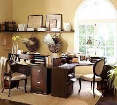 pottery barn desk with hutch his and hers home office design ideas smart corner desk hutch