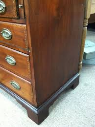 Secretary Desk For Sale by Gorgeous Antique American Mahogany Secretary Desk With Eagle Inlay