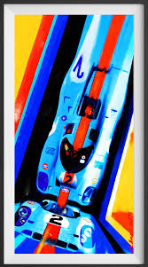 porsche 917 art the kinetic artwork of geoff velazco is now available in the