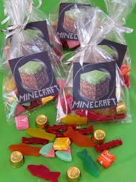 minecraft party favors party minecraft style