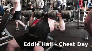 Bench Workout Routine Eddie Hall Bench Pressing Full Chest Workout Routine With The