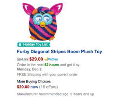 free shipping amazon black friday furby boom deal is now in amazon black friday sale