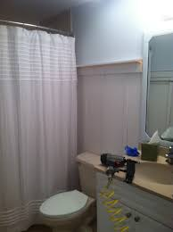 bathroom exciting l shaped shower curtain rod with stainless