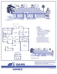 Home Plans Florida by Cape Coral South Adams Homes