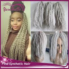 gray marley braid hair wholesale braid gray hair online buy best braid gray hair from