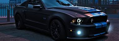 mustang projector headlights ford mustang eye halo led projector headlights headls