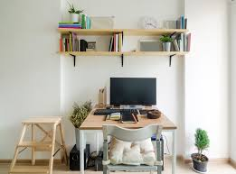 Home Office Small Desk 9 Ways To Incorporate A Home Office Into A Small Apartment