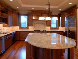 fabulous modern kitchen with island in house design concept with