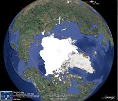 Satellite Map Live Nsidc Data On Google Earth National Snow And Ice Data Center