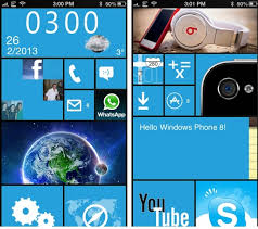 best dreamboard themes for iphone 6 make your iphone look like windows phone 8 with this dreamboard theme