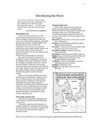 epic conventions worksheet epic texts worksheets and students
