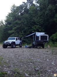 jeep pop up tent trailer 2006 fleet wood neon off road tent trailer expedition portal