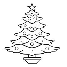 best christmas tree outline 7027 clipartion com