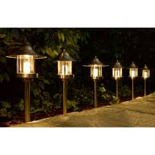 Low Voltage Landscaping Lights Westinghouse Grande Chaumont Led Low Voltage Landscape Light Set