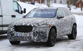 jaguar f pace 2019 jaguar f pace svr spy shots and video