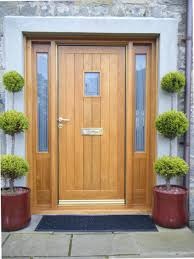 Solid Oak Exterior Doors Front Doors Solid Oak Front Doors And Frames Home Door Ideas