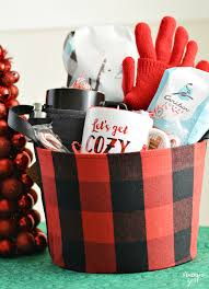 Coffee Gift Baskets Lets Get Cozy Coffee Gift Basket From Caribou Coffee Finding Zest