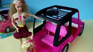 barbie cars from the 90s mattel barbie sisters cruiser vehicle youtube